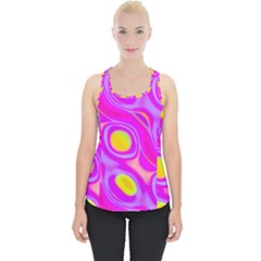 Noise Texture Graphics Generated Piece Up Tank Top
