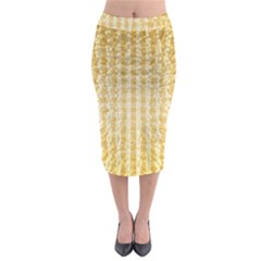 Pattern Abstract Background Midi Pencil Skirt