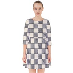 Pattern Background Texture Smock Dress