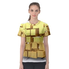 Gold Bars Feingold Bank Women s Sport Mesh Tee