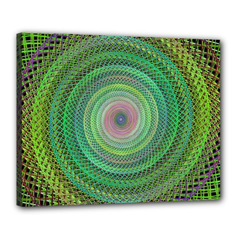 Wire Woven Vector Graphic Canvas 20  X 16