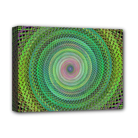 Wire Woven Vector Graphic Deluxe Canvas 16  X 12
