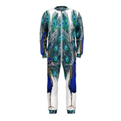 Peacock Bird Peacock Feathers Onepiece Jumpsuit (kids)