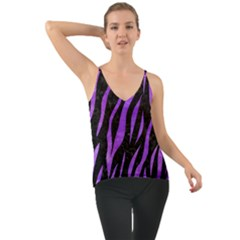 Skin3 Black Marble & Purple Watercolor (r) Cami