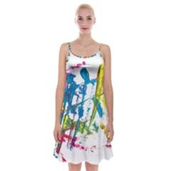 No 128 Spaghetti Strap Velvet Dress