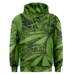 Marijuana Plants Pattern Men s Pullover Hoodie