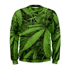 Marijuana Plants Pattern Men s Sweatshirt