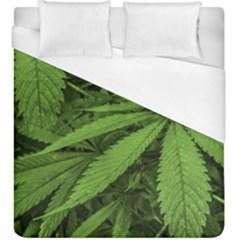 Marijuana Plants Pattern Duvet Cover (king Size)
