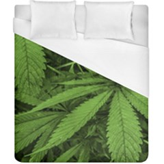 Marijuana Plants Pattern Duvet Cover (california King Size)