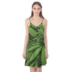 Marijuana Plants Pattern Camis Nightgown