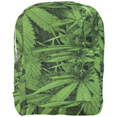 Marijuana Plants Pattern Full Print Backpack