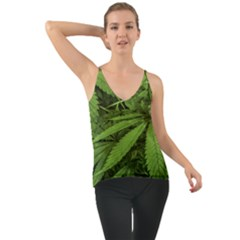 Marijuana Plants Pattern Cami