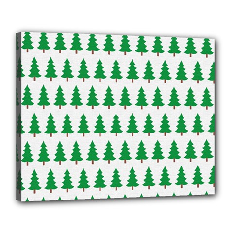Christmas Background Christmas Tree Canvas 20  X 16