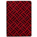 WOVEN2 BLACK MARBLE & RED LEATHER Apple iPad Pro 12.9   Flip Case View1