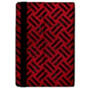WOVEN2 BLACK MARBLE & RED LEATHER Apple iPad Pro 12.9   Flip Case View4