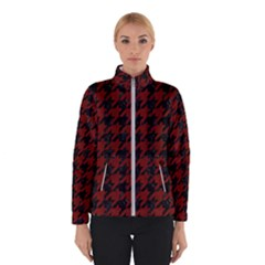 Houndstooth1 Black Marble & Red Wood Winterwear