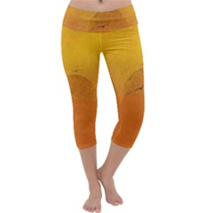 Sunset Capri Yoga Leggings
