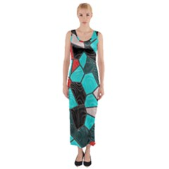 Mosaic Linda 4 Fitted Maxi Dress