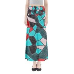 Mosaic Linda 4 Full Length Maxi Skirt