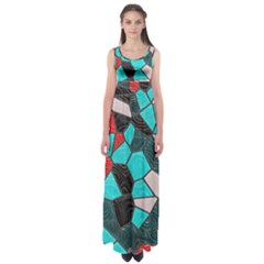 Mosaic Linda 4 Empire Waist Maxi Dress