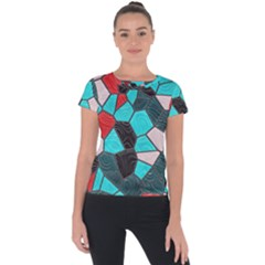 Mosaic Linda 4 Short Sleeve Sports Top