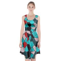 Mosaic Linda 4 Racerback Midi Dress