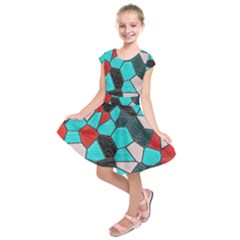 Mosaic Linda 4 Kids  Short Sleeve Dress
