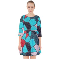 Mosaic Linda 4 Smock Dress
