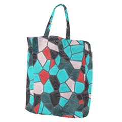 Mosaic Linda 4 Giant Grocery Zipper Tote