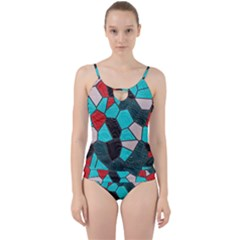 Mosaic Linda 4 Cut Out Top Tankini Set