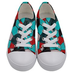 Mosaic Linda 4 Kids  Low Top Canvas Sneakers