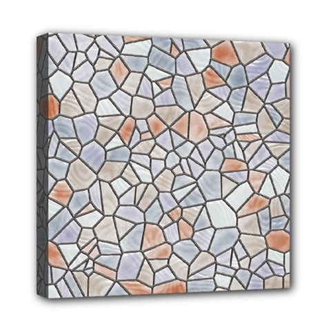 Mosaic Linda 6 Mini Canvas 8  X 8