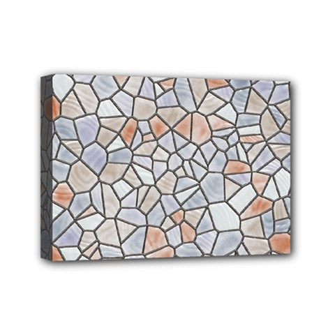 Mosaic Linda 6 Mini Canvas 7  X 5