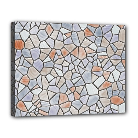 Mosaic Linda 6 Canvas 14  X 11