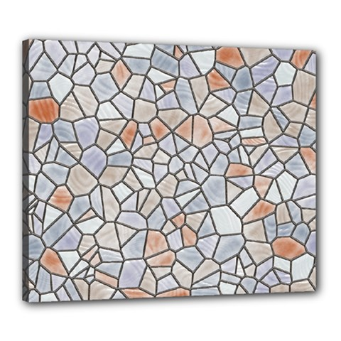 Mosaic Linda 6 Canvas 24  X 20