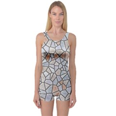 Mosaic Linda 6 One Piece Boyleg Swimsuit