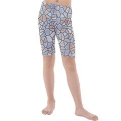 Mosaic Linda 6 Kids  Mid Length Swim Shorts