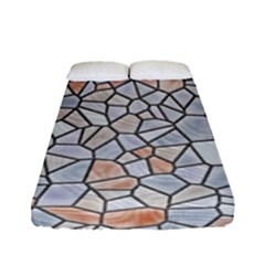 Mosaic Linda 6 Fitted Sheet (full/ Double Size)