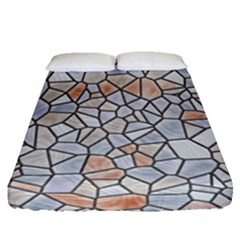 Mosaic Linda 6 Fitted Sheet (queen Size)
