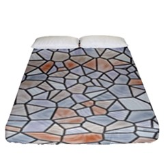 Mosaic Linda 6 Fitted Sheet (king Size)