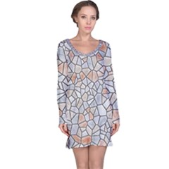 Mosaic Linda 6 Long Sleeve Nightdress
