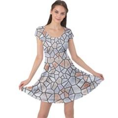 Mosaic Linda 6 Cap Sleeve Dress