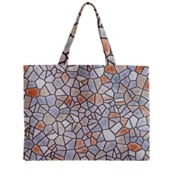 Mosaic Linda 6 Zipper Mini Tote Bag