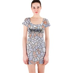 Mosaic Linda 6 Short Sleeve Bodycon Dress