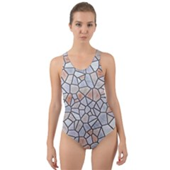 Mosaic Linda 6 Cut Out Back One Piece Swimsuit