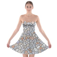 Mosaic Linda 6 Strapless Bra Top Dress