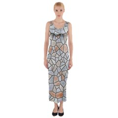 Mosaic Linda 6 Fitted Maxi Dress