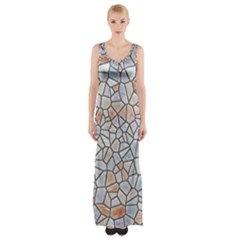 Mosaic Linda 6 Maxi Thigh Split Dress