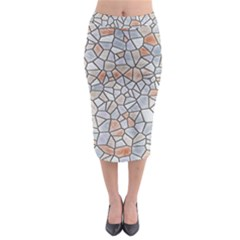 Mosaic Linda 6 Midi Pencil Skirt