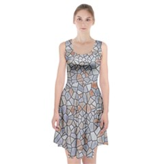 Mosaic Linda 6 Racerback Midi Dress
